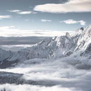 Dolomiten Winter