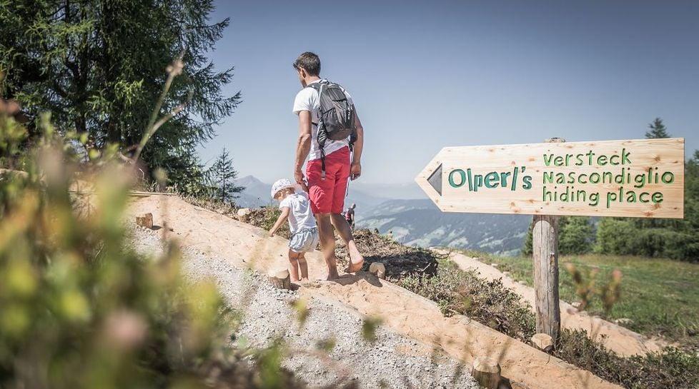 Il sentiero a piedi nudi dell'Olperl