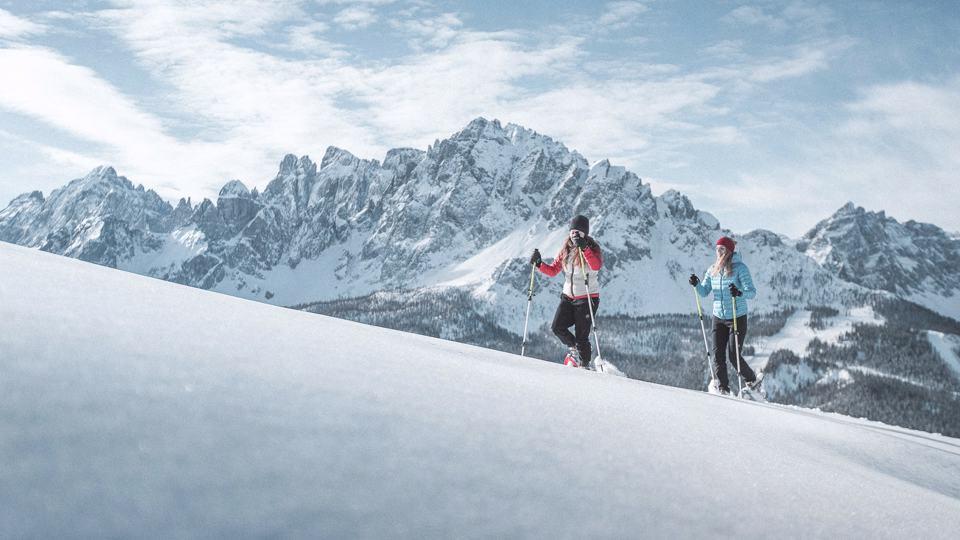 Escursioni invernali nel cuore delle Dolomiti