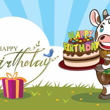 Happy Birthday Post Alpina