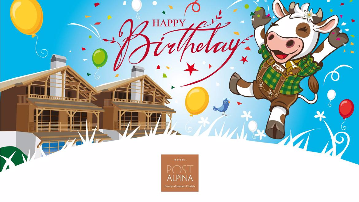 Happy Birthday Post Alpina